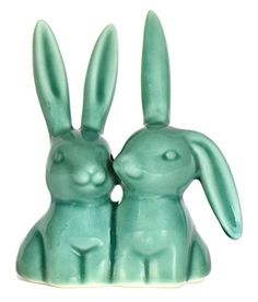 Bunny Rabbit Ring Holder, Super Cute Engagement and Wedding Ring Holder, Designer Handmade Ceramic