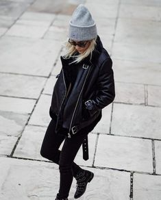 Embrace Your Edgy Side With This Blogger Look