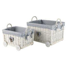 Pair of Eden baskets