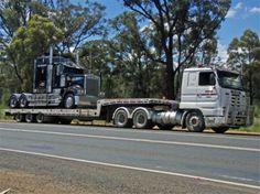 Scania R113M and Jackson Transport Bodies 48ft Super Tilt