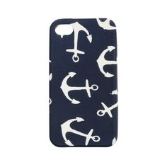 Jcrew anchor iPhone 4s cover