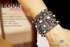Muitas opções de acessórios para você compor o seu look!! NA LOJA VIRTUAL: www.lojagracealmeida.com.br LOOK NO BLOG: www.gracealmeida.com.br/blog