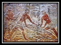 ** Interior de la Mastaba de Ti, Saqqara. Reino Antiguo, V Dinastía. -11