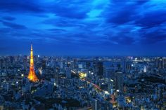 Blue Hour Tokyo by Agustin Rafael Reyes on 500px