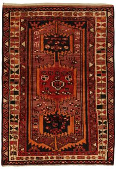 Zanjan - Hamadan Persian Carpet 190x134