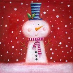 Ileana Oakley - snowman christmas cute.jpg