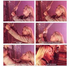 Rose Tyler is most people. That's why most people love her :))