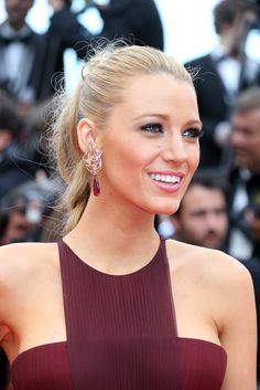 Blake Lively looked bronzed and beautiful at the Opening Ceremony of the Cannes Film Festival.