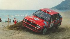 Lancia coming into land in St Maartin.