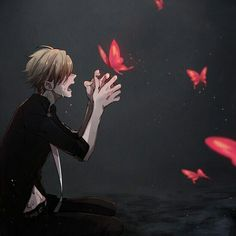 ((OPEN RP, be the boy he has hallusinations REPIN WITHOUT DESCRIPTION OR I WILL EAT UR SOUL)) *runs over to you* are you alright?!, you suddenly collapsed what's wrong? *kneels down next to you*
