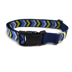 Waggo Chevron Dog Collar Pattern Dog Collar | Waggo