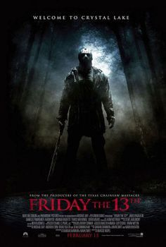 "Friday the 13th movie poster (24"" x 36"")"