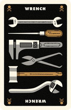 Clue Card Wrench, Andrew Kolb
