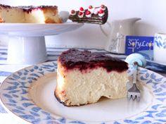 Las recetas de cocina de SofyLeon: Tarta de queso fácil con mermelada de moras