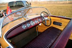 1957 Chris Craft Capri for sale with new upholstery and restored instruments Chris Craft Wooden Boats, Wood Boats, Runabout Boat, Float Your Boat, Pula, Power Boats, Water Crafts, Croatia, Cabins