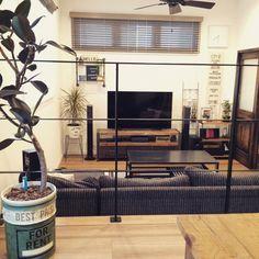 oil缶/リメ缶/ペイント/DIY/NO GREEN NO LIFE/スキップフロア…などのインテリア実例 - 2015-06-12 12:37:50 | RoomClip(ルームクリップ)