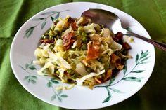 Scottish cabbage dinner