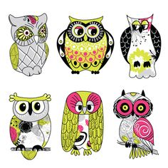 Owls are in, and what's not to love when they're as cute as this! Don't use boring old owls as the symbol of wisdom in your classroom, switch to these fun and cute artistic owl clipart for teachers instead!