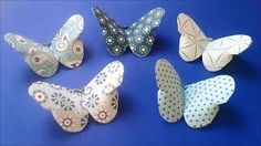 Super Simple ORIGAMI Butterfly - YouTube