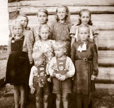 I can imagine Lina and her brother being one of these children forced from the comforts of their home in Lithuania and deported to Siberia by Stalin.