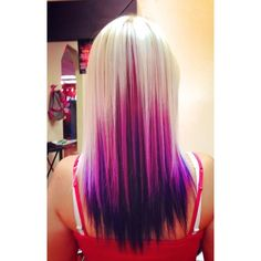 Dye your hair simple & easy to balayage pink hair color - temporarily use balayage pink hair dye to achieve brilliant results! DIY your hair balayage with hair chalk Pink Purple Hair, Dyed Hair Purple, Dyed Hair Pastel, Blonde Pink, Pastel Purple, Purple Streaks, Pink Highlights, Purple Ombre, Hair Color And Cut