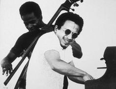 Keith Jarrett. An American pianist and composer of both jazz and modern classical music.