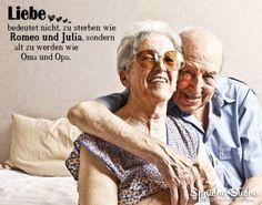 OMA und OPA Spruch - Liebe - zusammen alt werden