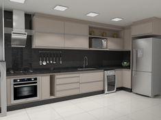 Free Image on Pixabay - Kitchen, Render - Modern Kitchen Modern Kitchen Renovation, Modern Kitchen Interiors, Modern Kitchen Cabinets, Home Decor Kitchen, Parallel Kitchen Design, Kitchen Design Open, Kitchen Cabinet Design, Interior Design Kitchen, Kitchen Modular
