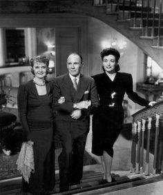 Billie Burke, UNKNOWN, Joan Crawford   (1942) Roland Young, Billie Burke, Glinda The Good Witch, Ziegfeld Follies, Musical Film, Joan Crawford, American Actress, Movie Stars, Cinema