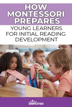 I explore how methods of reading in Montessori classrooms work and share 3 simple steps Montessori put in place to help kids become readers at an early age. Reading Strategies, Reading Skills, Teaching Reading, Teaching Kids, Reading Games, Learning Games For Kids, Learning Letters, Early Reading, Reading Aloud