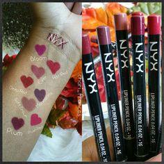 NYX Lip liners! @nyxcosmetics
