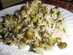 Haitian Creole: Making Rice with Peas and Spinach