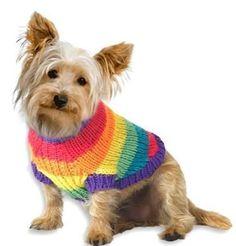 Como hacer chalecos para perros tejidos - Imagui