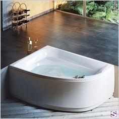 Good Eck Badewanne Salo SEBASTIAN e K u Eindrucksvolle Linienf hrung u Die schlanke geschwungene Form