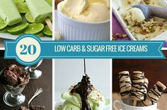 The 20 Best Low Carb Sugar Free Ice Cream Recipes.