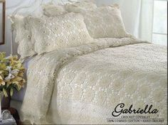 Image result for bed cover crochet pattern
