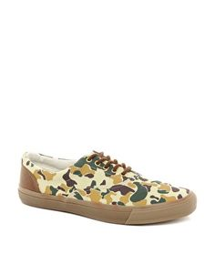 Enlarge ASOS Sneakers with Camo Print