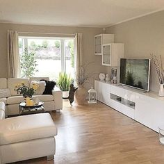 living room layout ideas for your dream house Living Room Tv, Small Living Rooms, Living Room Interior, Home And Living, Living Room Designs, Interior Design, Design Design, Home Decor, Interior Inspiration
