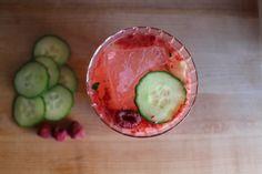 Blog — The Crunchy Radish Raspberry + Cucumber Tequila Spritzer #crunchyradish #cincodemayo #tequila