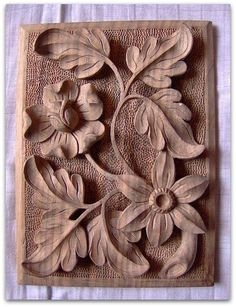 Amazing Carved Wood Design & Decor For Your Furniture – Design and Decor Wood Carving Designs, Wood Carving Patterns, Wood Carving Art, Stone Carving, Wood Art, Best Wood For Carving, 3d Cnc, Chip Carving, Wood Sculpture