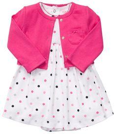 Carter`s 2-pc. Pink Polka Dot Dress Set