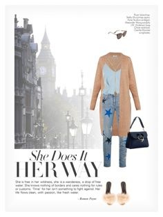 """""""SHE DOES IT HER WAY"""" by paint-it-black ❤ liked on Polyvore featuring Alexander Wang, Acne Studios, STELLA McCARTNEY, River Island, Gentle Monster, J.W. Anderson, Chloé, StreetStyle, jeans and starprint"""