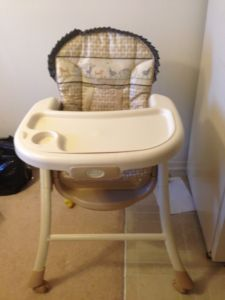 Summer convertible high Chair for infant and toddler
