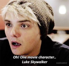 the way his eyes light up when he speaks about Luke Skywalker is possibly the most adorable thing in this entire universe