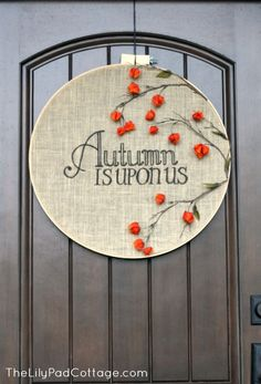 Autumn/Fall Front Door Decor