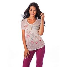 V-Neck Cinderella Tee for Women