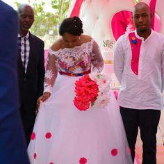 Venda Traditional Attire, Tsonga Traditional Dresses, African Wedding Theme, African Wedding Attire, African Traditional Wedding Dress, Wedding Designs, Wedding Ideas, African American Brides, African Dress