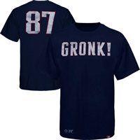 Sportiqe Rob Gronkowski New England Patriots Cornbread T-Shirt - Navy Blue #Gronk