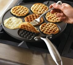 Nordic Ware Silver Dollar Waffle Griddle – $23 #Weyley #waffle #pancakes