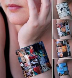 Comic/Magazine Cuff - Batman theme
